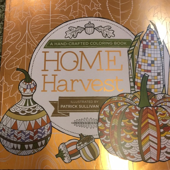 Hand crafted coloring book